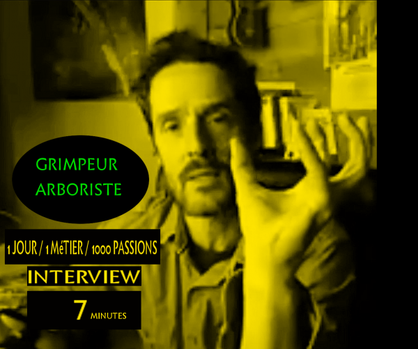 Interview de Thomas Brail, grimpeur-arboriste